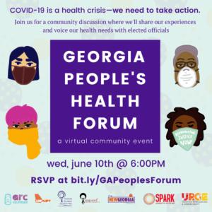 People's Health Forum Flyer